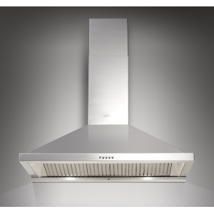STAINLESS STEEL CHIMNEY HOOD Mod.K611BFX90