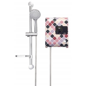 MEX INSTANT WATER HEATER 5100W MOD.CUBE 5C (MO) MOSAIC.